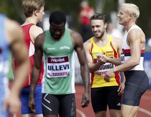7. Tom Kling Baptiste, 25 år (25), friidrott. Huddingesprintern, som växte upp i Södertälje, klättrar på listan igen efter en säsong då han verkligen var Sveriges snabbaste man. SM-guld på både 100 och 200 meter och seger på 200 och stafetten 4 x 100 meter i finnkampen.
