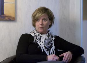 Maria Lövgren är projektledare för beroendecentrum i Hudiksvalls kommun.