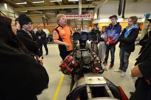 Alla team behöver hjälp av sådana som är intresserade, så tveka inte att höra av er, uppmanade Kent Carlsson på Micke Kågered Racingteam. Foto: Jan Wijk