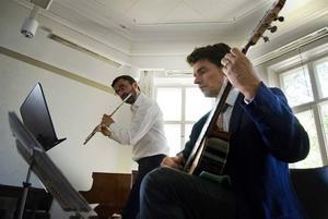 Engeltoftabra. Tobias Carron och Per Skareng förförde publiken med kammarmusik.