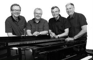 Evangelistkvartetten består av Jan Erixon, Carl- Olov Hultby, Mats Gunnarsson och Dan-Inge Olsson, som är pastorer i Svenska Missionskyrkan. På torsdag den 15 september kommer de till Edsbyn.