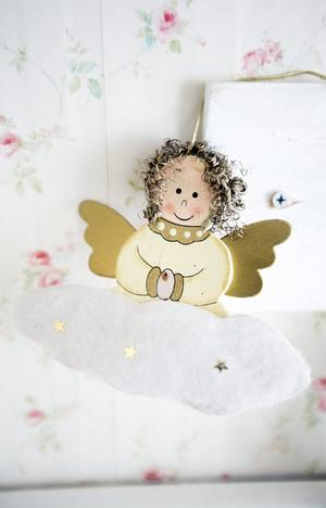 En av flera änglar som vakar över huset.