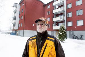 Ola Lundh jaktledare för viltgruppen i Gävle kommun.
