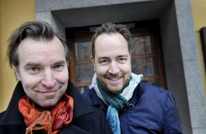 """Svenska regissörduon Måns Mårlind och Björn Stein. """"Det känns både märkligt och som en lättnad, helt fantastiskt"""", säger de sedan """"Underworld: Awakening"""" gått direkt upp på amerikanska biotoppens förstaplats."""