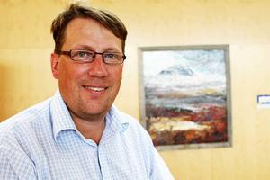 Anders Häggkvist, Centerpartiets starke man i Härjedalen.