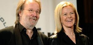 Anni-Frid Lyngstad och Benny Andersson.