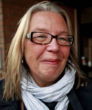 Gunilla Östergren i konstföreningen är en av många som jobbat med Konstens Vecka