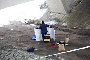 Olyckan inträffade på tisdagsmorgonen i centrala Falun.