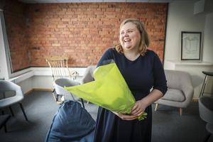 Karin Jonsson tilldelas Klara Lindhs stipendium.