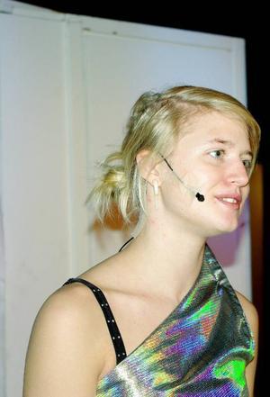 Petra Wiklund missade bussen till den internationella rymdstationen ISS. Bussen går via observatoriet  i Gäddede.