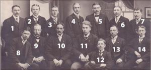 Nummer tio är Johan Näsgård och nummer 14 kan alltså vara Karl Gustafsson.