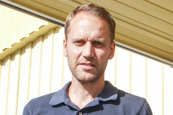 Erik Sidenvall, chef för poliser i yttre tjänst i Härjeadalen.