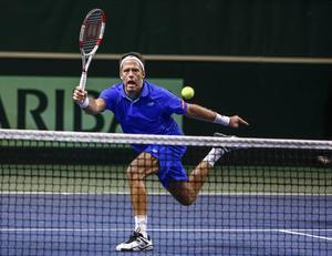 Robert Lindstedt är tillsammans med britten Dominic Inglot klar för semifinal i US Open. ARKIVBILD.