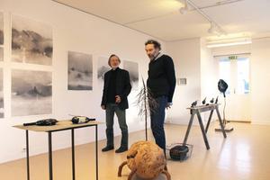 Christer Carlstedt och Mats Caldeborg ställer ut på Härke konstcentrum.