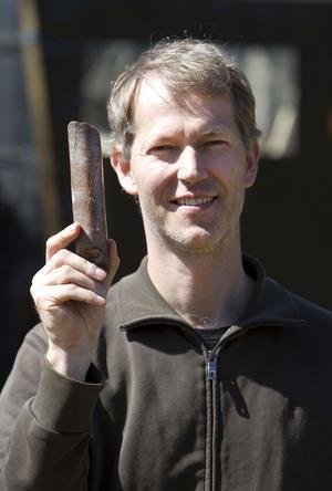 Anders Zetterqvist, geolog och ansvarig för undersökningarna i området.