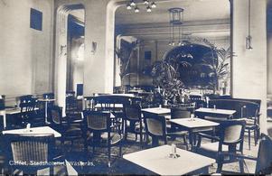Caféet, Stadshotellet, Wästerås.