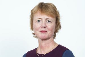 Lisbet Gibson, hälso- och sjukvårdsdirektörn på Region Jämtland/Härjedalen.