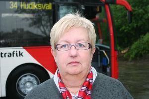 Inga - Lill Johnsson i Bergsjö känner att hon gjort ett rätt yrkesval. Även om det blev lite senkommet.