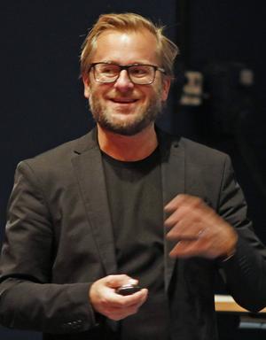 Pär Bergkvist, chefredaktör för Magasin Måltid.