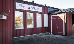 Nya Lillhaga förskola ska ha åtta avdelningar. Tidigare var det fem. Förskolebarnen håller i väntan på nybygget till på Furuborgskolan.
