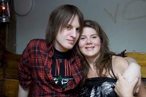 Konrad Robin och Lina.