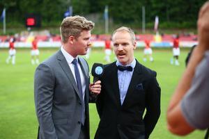 Adam Johansson och Andreas Olsen kommenterade Europa League-kvalmatchen mellan ÖFK och Fola Esch i Luxemburg.
