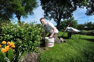 Som sommarpraktikant kan man få sköta om rabatter, parker och lekplatser.