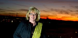 Miljöminister Lena Ek (C) besökte Dalarna på onsdagen,