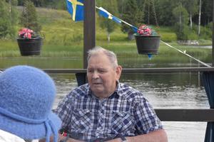 Einar Hållander har varit med på flotten fem år i rad.