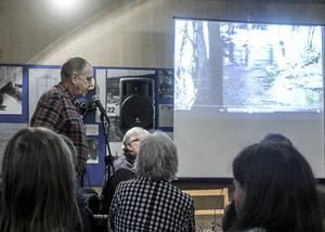 Bosse Forsling visade film från sina strapatser i naturen.