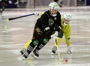 Jonas Nygren satte tre mål för Broberg/Söerhamn i segermatchen mot Ljusdal.
