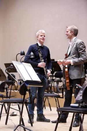 Bröderna Martin och Göran Fröst kommer nu att båda två jobba för Svenska kammarorkestern.