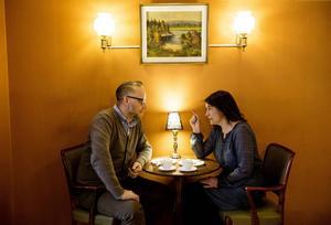 Po Tidholm och Sofia Mirjamsdotter pratar om Norrland i Norrlandspodden.