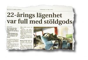 Ur Borlänge Tidning 31 maj 2007.