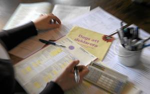 Här syns avdraget. I deklarationen kan alla som arbetar läsa hur mycket man fått behålla via jobbskatteavdraget, skriver Elisabet Svantesson och Oskar Öholm. Bild: Anders Wiklund/SCANPIX