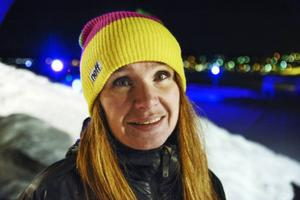 Camilla Göransson-Norrby har tillsammans med Patric Nyberg som är landslagscoach för slopelandslaget, tränat Tjejgruppen.