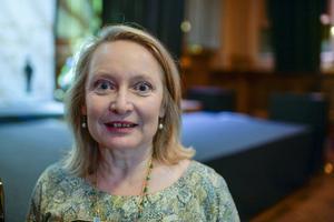 Karin Bojs, som fick ta emot årets Augustpris i fackboksklassen för