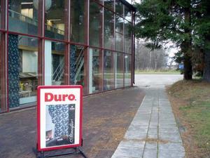 Ett stopp på Duro Tapet i Hagaström, Gävlekl. 11.11.