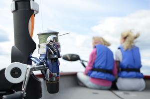 Väringen. Frövi sportfiskeklubb höll en fiskeskola för barn och ungdomar i veckan.