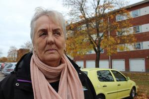 Salabon Ann-Britt Ehn hittade sin syster Ulla Erixon kraftigt blödande hemma i cykelförrådet efter stenkastningen.