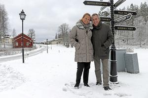 De kom till ett affärsmässigt vägskäl. Lokavattnet behövde säkras. Och det ledde till att hela Loka Brunn med över 50 fastigheter köptes in. En affär som Mia och Jens Spendrup aldrig har ångrat.