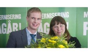 Gustav Fridolin och Åsa Romson, Miljöpartiets språkrör.    FOTO: LEIF R JANSSON/Scanpix