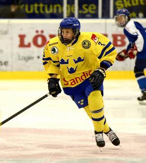 Sofia Engström har, förutom Leksand, även representerat Damkronorna under sin framgångsrika karriär.