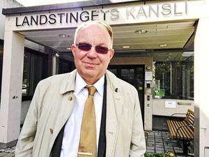 Anders Ekegren, ombudsman på fackförbundet Jusek. Foto: Klas Leffler
