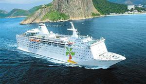 Så här lanseraras Ocean Gala för att locka kryssningsresenärer. Med nytt namn, Island Escape.