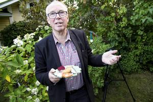 Per Sonerud har lärt sig att äta surströmming av sin fru som är en fantast.