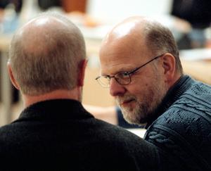 Tomas Quick under en av rättegångsdagarna där han dömdes för mordet på Johan Asplund.