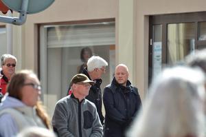 Avhoppare. Svenerik Nykvist och Thomas Jansson har båda hoppat av från S i Nora men fanns på plats som åskådare.