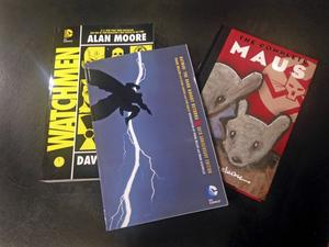 Året 1986 förändrades synen på serietidningar, mycket tack vare