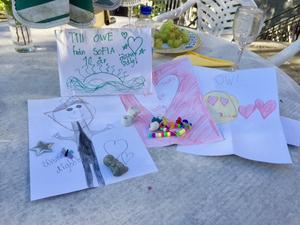 Oves presenter från 10-åriga Sofia.